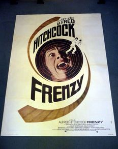 Frenzy - Original French one-panel movie poster- 120 x 160 cm - 1972 - Alfred Hitchcock