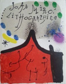 Joan Miró - Joan Miró Lithographs. Vol. I. Complete with all lithographs