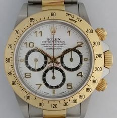 Rolex Daytona Zenith 'Inverted 6' Unisex wristwatch – Complete Set – Year 1992.