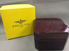 Original Breitling box of Bakelite and outer box