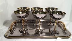 S. Laurent line - 6 cups with tray Martin