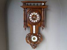 Henry II clock with barometer and thermometer – circa 1880