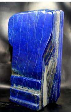 Large, fine quality, self-standing Royal Blue Lapis Lazuli free-form - 264 x 150 x 70mm - 7319gm