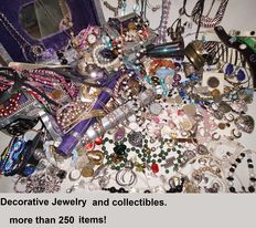 A massive lot of not tested Jewelry from an estate clearance