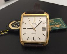 OMEGA DE VILLE 18 Kt gold watch – late 60s, early 70s – NOS