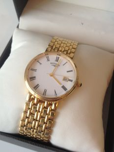 Rotary mens gold  watch