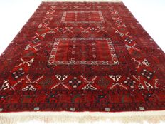 """Afghan – 233 x 166 cm – """"Authentic eye-catcher – Persian carpet in mint condition""""."""