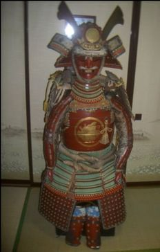 Japanese Samurai Armour Yoroi Taira clan early showa period