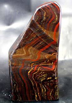 Large Tiger's Eye/ Iron Stone hand-polished free-form - 170 x 100 x 90mm - 3760gm