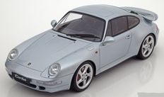 GT Spirit - Scale 1/18 - Porsche 911 ( 993 ) Turbo 1995 - Colour Silver