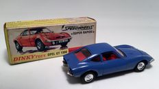 Dinky Toys-France- Scale 1/43 - Opel GT 1900 No.1421
