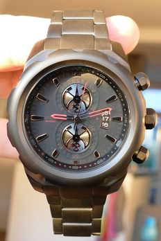 Airspeed Maverick Chronograph Limited Edition – Men's watch with Seiko timepiece – 2017 XXL, 52 mm, in luxury box