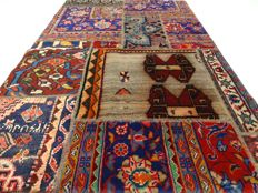 Patchwork – 173 x 114 cm – combination of the most beautiful, Persian carpets in beautiful condition