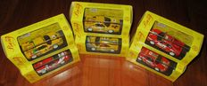 Bang Model - Scala 1/43 - Lot with 6 models: 1 x Ferrari 348 & 5 x Ferrari 355 Challenge 1995