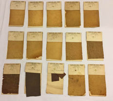 Cabinet of Curiosities - Historic Rubber Plantation samples - 9 x 17cm - 230gm  (15)