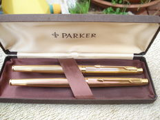 Parker fountain pen and ballpoint set