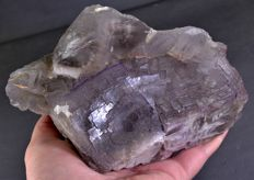 Large Purple/Blue Fluorite crystals with phantoms -  165 x 100 x 64 mm - 1557gm
