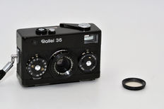 Rollei 35 black  Made in Germany (as of 1966)