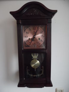 Classic box regulateur with harp pendulum - period end 20th century