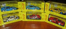 Bang Model - Scale 1/43 - Lot with 6 models: 3 x Ferrari 348 & 3 x Ferrari 355 Challenge 1995