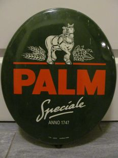 Palm beer enamel sign from 1997