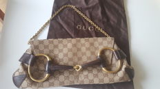 Gucci – Large clutch bag – 'Horsebit' limited edition
