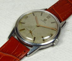 "<em class=""cw-snippet-hl"">Omega</em> Manual Winding Men's Watch-Stainless Steel Case-Vintage 1962"
