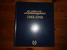 Lamborghini Catalogue Raisonné 1963-1998. Signed by test driver Valentino Balboni
