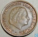 Coins - the Netherlands - Netherlands 1 cent 1966 (large numbers)