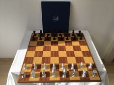 Artistic Mifa aluminium chess set - from a limited edition of 1000 sets