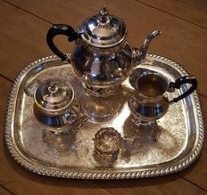 Cenacchi silver plated tea/coffee set 5 pieces