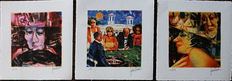 Remo Squillantini - Three signed lithographs