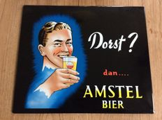 Amstel beer advertising sign