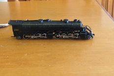 Rivarossi AHM H0 - 5090C - locomotive with tender, series 2197 articulated 2-8-8-2 USRA Mallet
