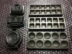 Lot of 6 Cake molds