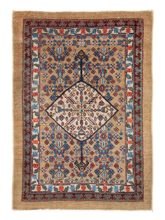 Antique Sarab carpet, 123 x 88 cm