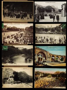 superb lot of 885 cpa, cpsm or photo cards dept 65 Lourdes