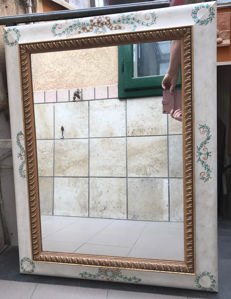 Decorated Mirror - Second half of 20th Century.