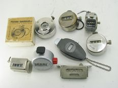 Collection of hand held counters and machine counters