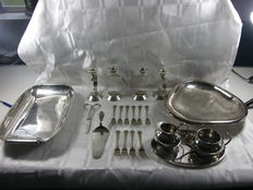 Kavel art deco table ware, Sola, Keltum, WMF etc