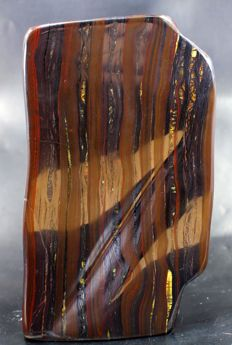 Large Natural Polished Tiger's Eye - 150 x 87 x 78mm - 2973gm