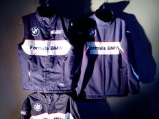 BMW Formula Junior - official Teamwear - Bodywarmer / Raincoat / Jacket