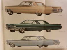 Cadillac brochures from 1964 onward. 7 pieces.