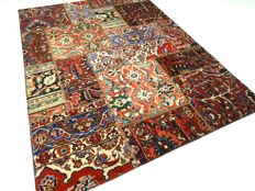 """Patchwork – 237 x 167 cm – """"Combination of the most beautiful Persian carpets, in wonderful, mint condition"""""""