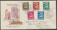 "The Netherlands 1950 – First Day Cover ""Churches in wartime"" – NVPH E2"