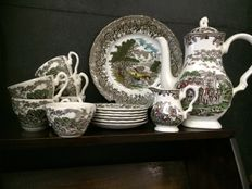 Country Style - porcelain 15 pieces. England.