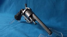 "Chiselled pin fire revolver ELG ""Lefaucheux"""