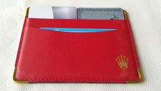 Rolex – Wallet / Card Holder code 0101.60.05 – '80s/'90s – never used