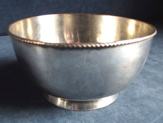 Antique English silver plated Bowl in Georgian style, approximately 1830