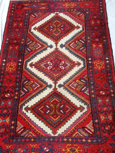 Excellent specimen carpet from Satar, Kolyai District, North Persia – from '60s – 150 × 100 cm – Starting from one euro – No reserve price!!!